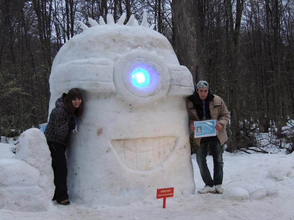 Esculturas en nieve 3
