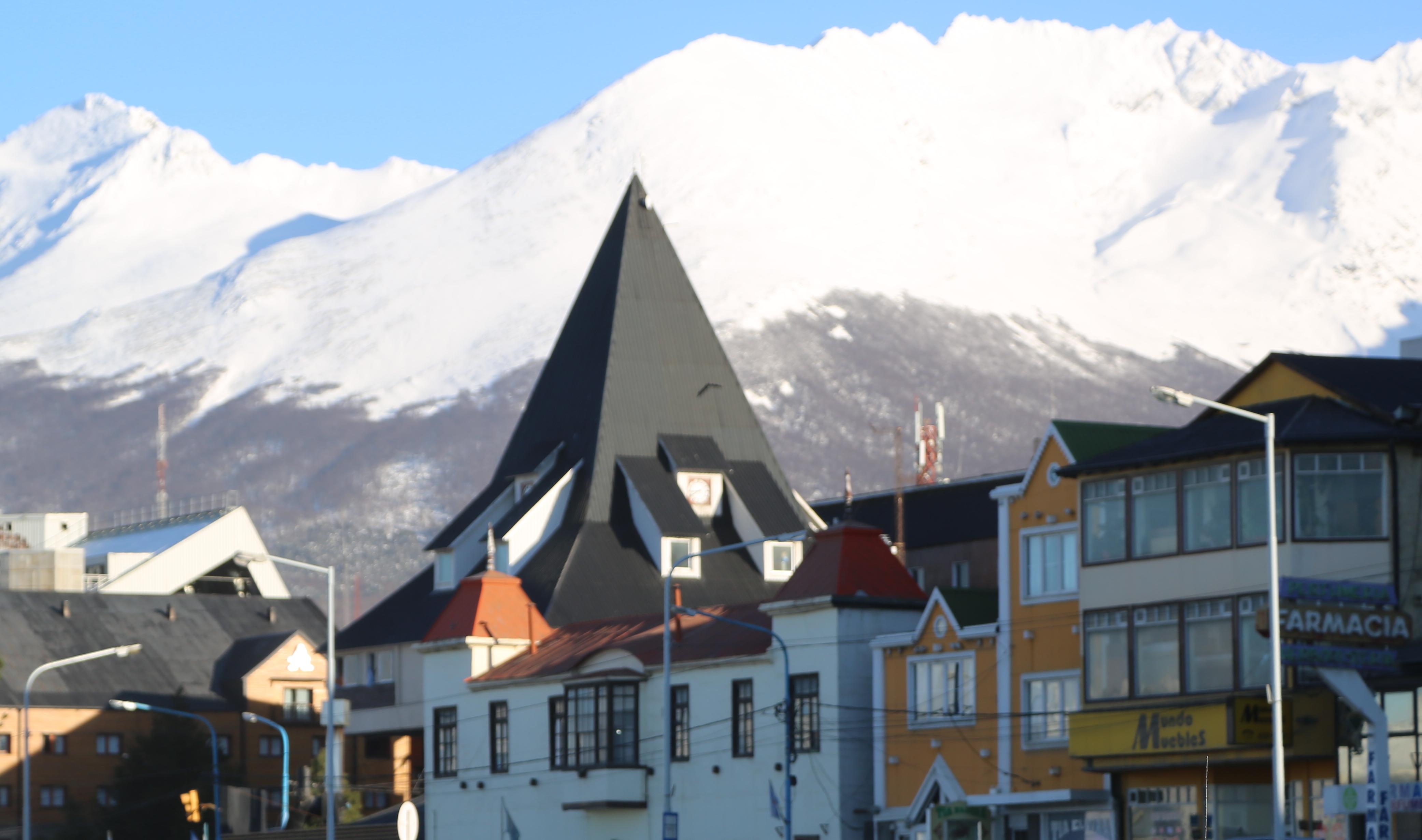 vista de ushuaia
