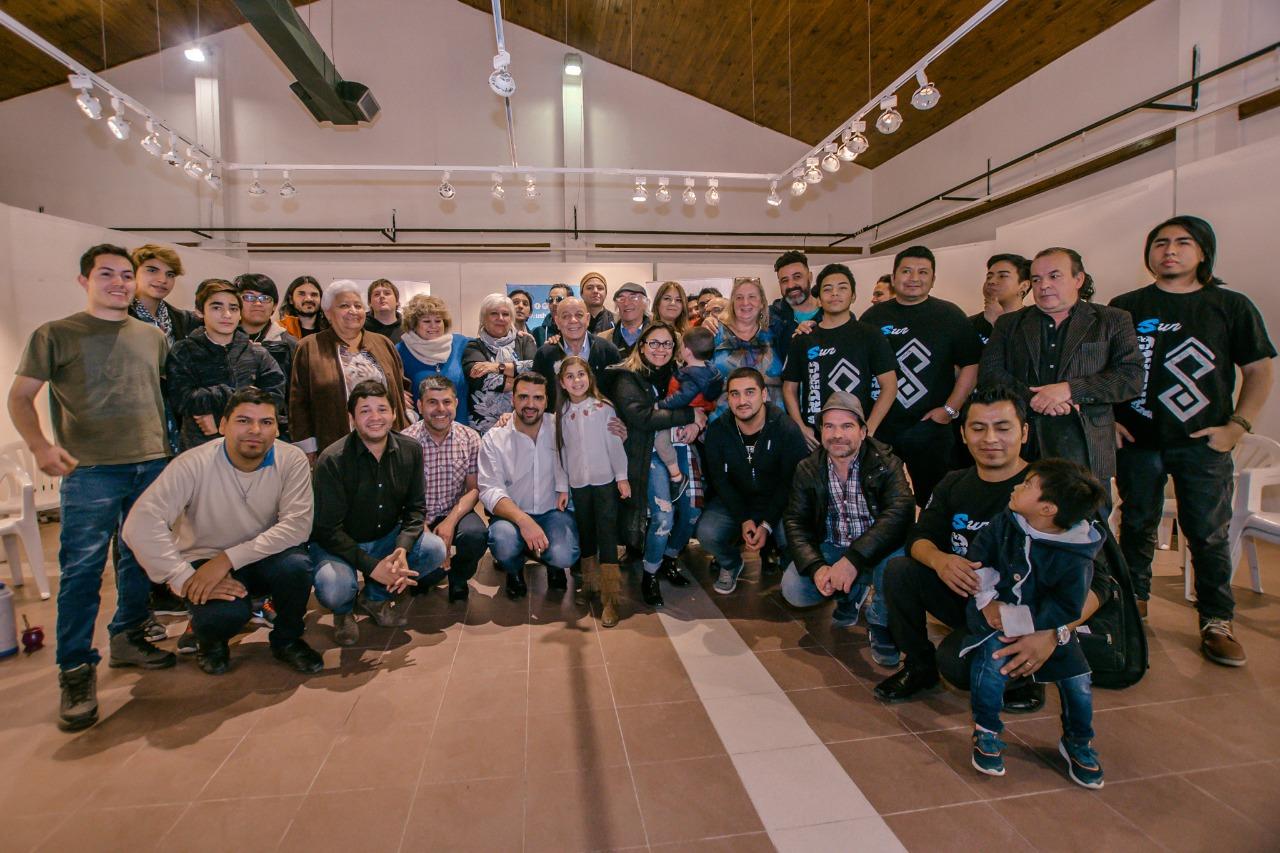 Vuoto con artistas ushuaia