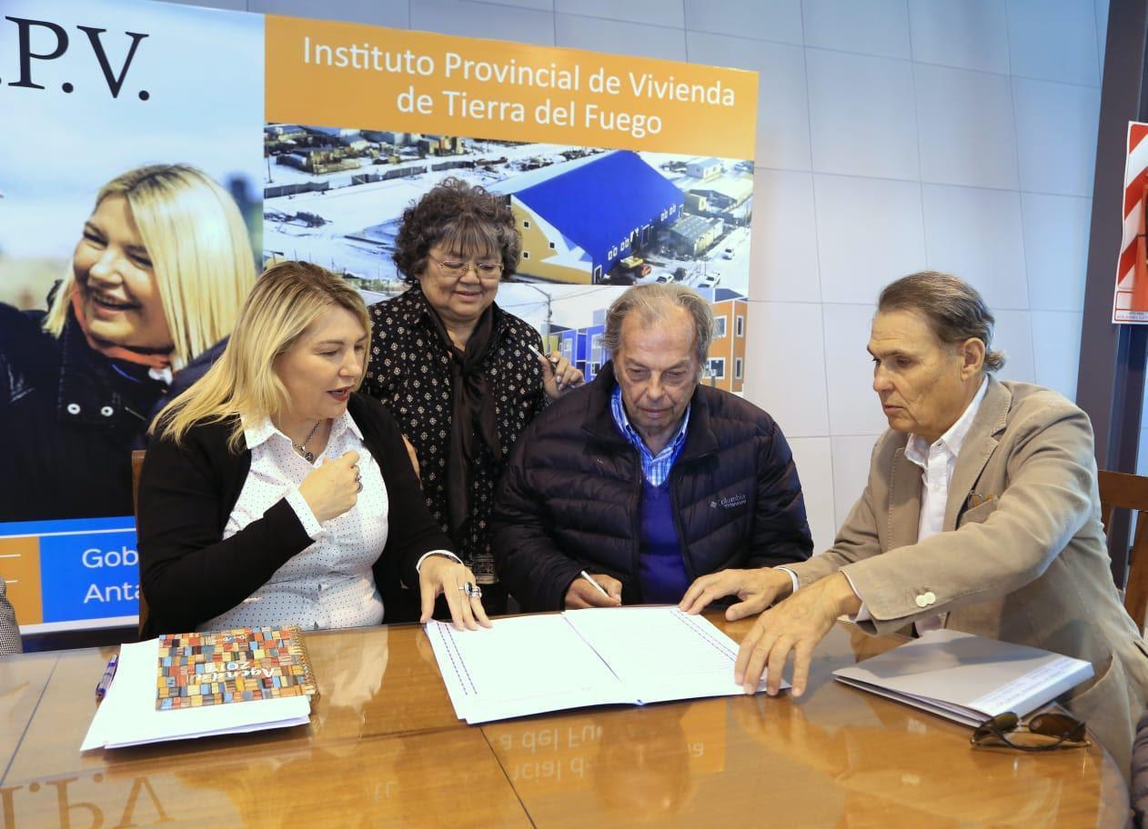 firma ipv regalo de tierras