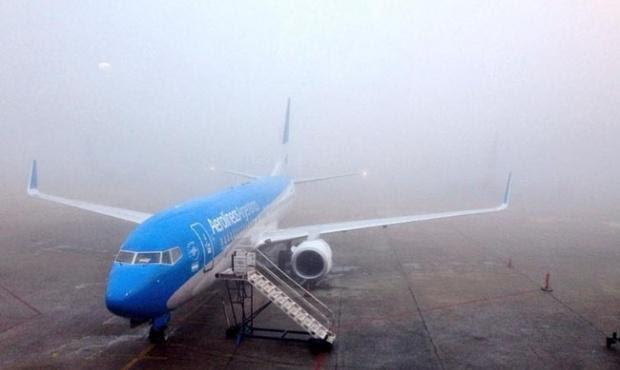 vuelo niebla