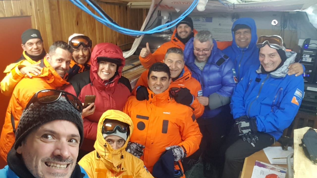 cientificos en antartida